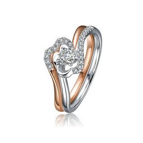 豪庭珠宝推出天生一对钻戒系列