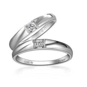 行行行珠宝新结婚石代系列情侣对戒