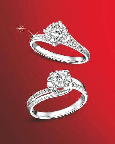 千禧之星新品速递-纯爱如雪钻石系列(多图)