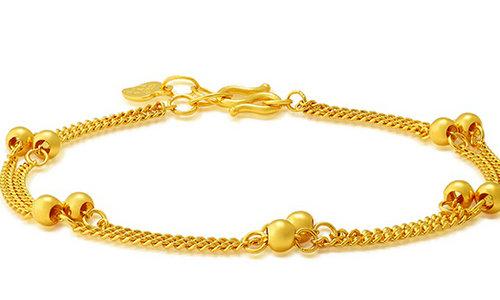 千足金黄金手链价格一般是多少钱?