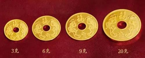 【爆款图】菜百首饰生肖猴年吉祥金钱